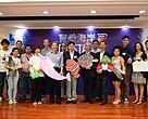 主禮嘉賓及多個合作團體代表啟動「育養海岸」第二年計劃